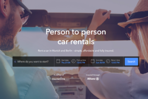 "Mercedes expands Peer-to-Peer (""P2P"") car-sharing/car rental program"