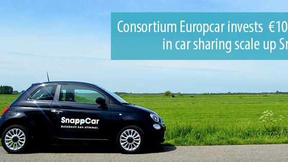 Consortium invests €10 million in car sharing service Snappcar