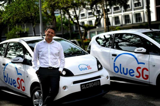 Electric car sharing Blue Solutions set for Singapore in August