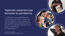Tejiendo experiencias durante la pandemia