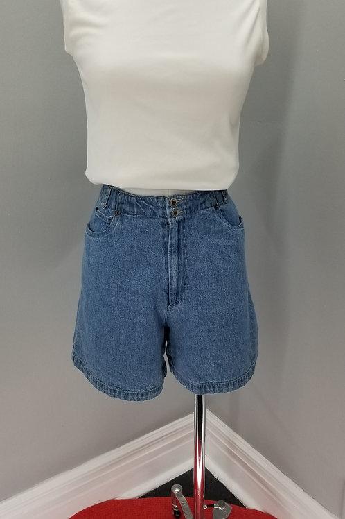90s Paul Harris Denim high waisted shorts  - M