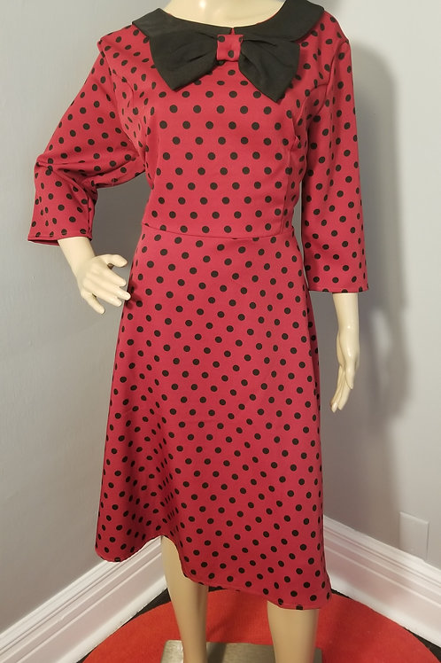 Vintage Inspired Lindy Bop Fit-n-Flare dress - XXL
