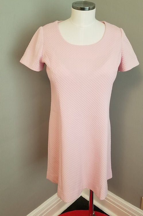 60's Sweet Pastel Pink A-line - M