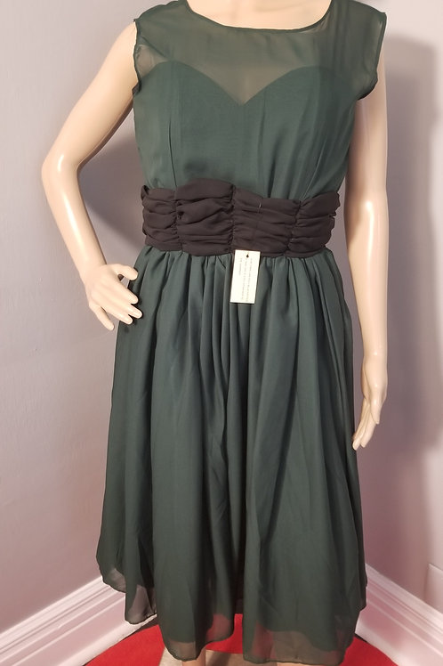 Vintage Inspired Lindy Bop Cocktail Dress - L