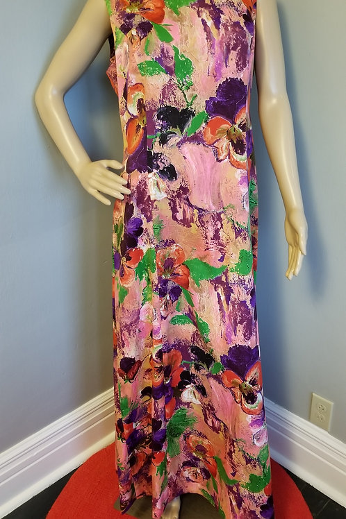 70's Tori Richard's Hawaiian Maxi - M/L
