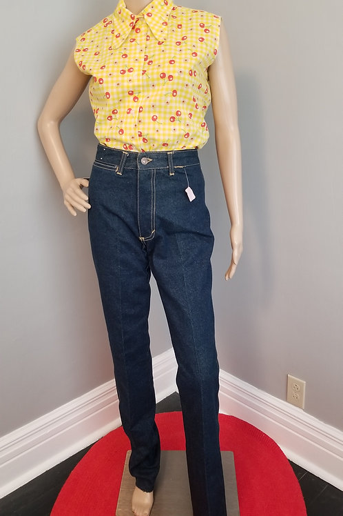 80's Sasson Jean's NOS with tags - XS