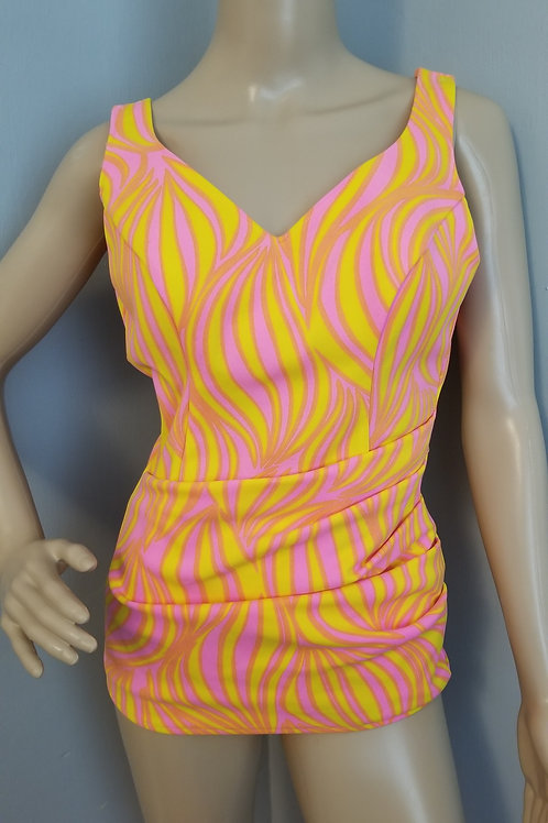 60's Flamin' Hot & Super Cute Swimsuit - S / M