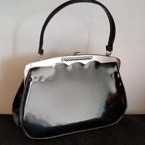 60's Vendi Faux Patent Leather Purse