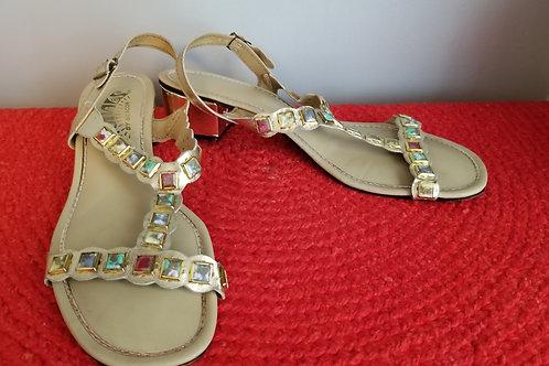 70's Signals T-strap sandals - Size 9.5N