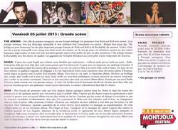 Mix @ Montjoux festival