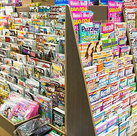 Magazines Humphreys newsagent