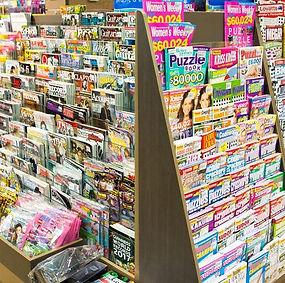 Magazines Humphreys newsagent