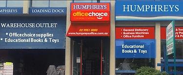 Humphrys warehose balgowlah officechoice
