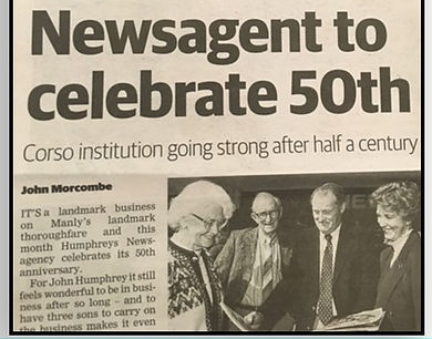Humphreys Manly turns 50