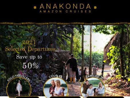 Amazonas-Flussexpeditionen: Paare, Familien und Einzelreisende: Bis zu 50% Günstiger