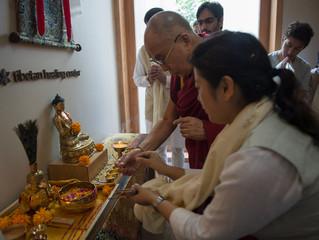 Dalai Lama im Vana