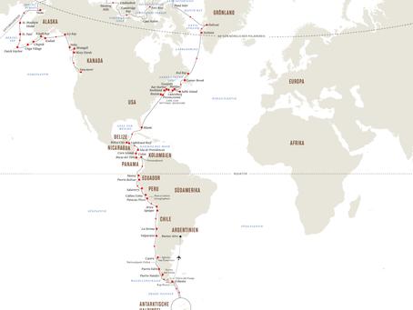 Von Pol zu Pol – Die ultimative Expeditions-Seereise