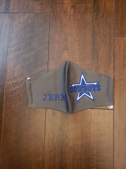 Dallas Cowboys (with personalization option)