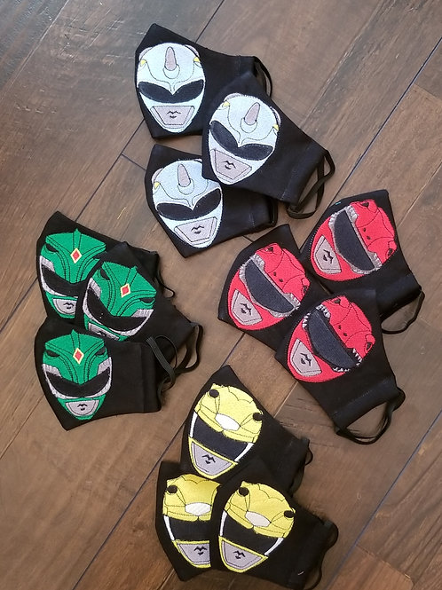 Character Face Mask (Kids or Adult)
