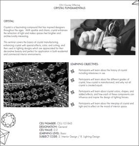 CEU Course Overview Sheet