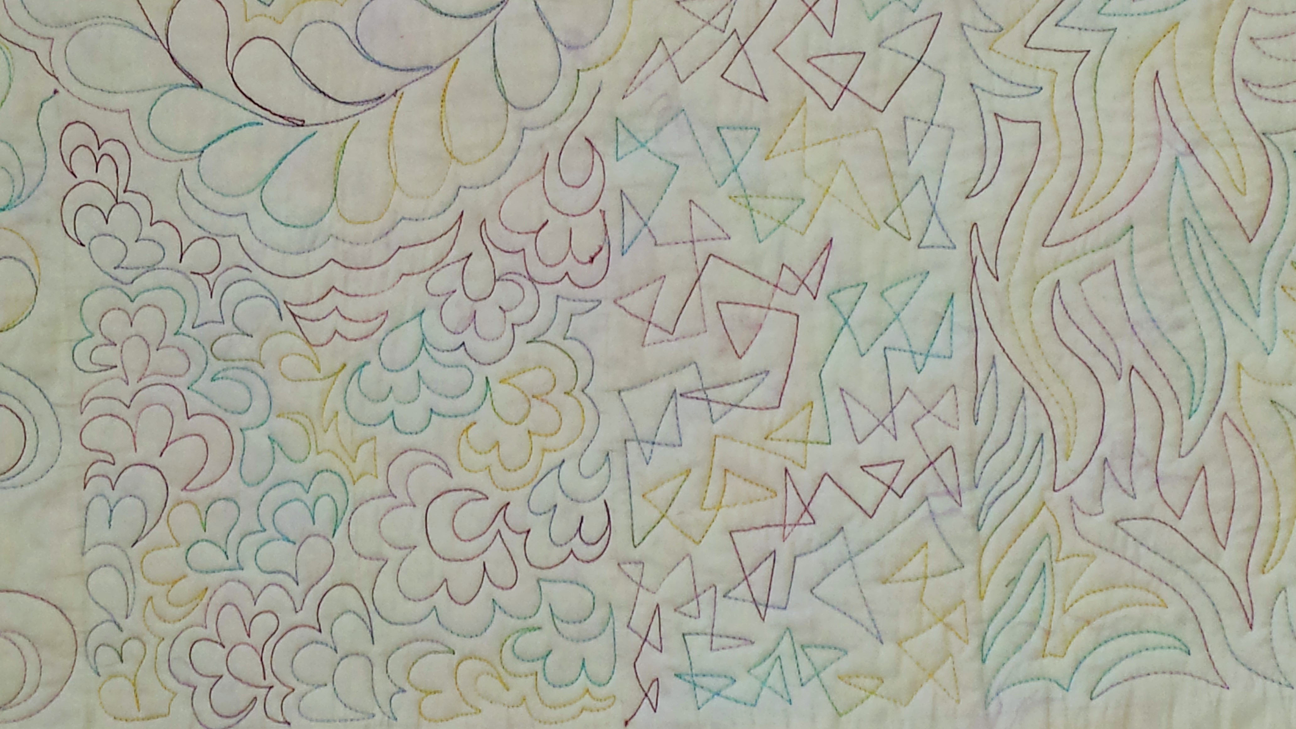 Free Motion Quilting - The Five Basics