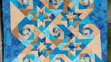 Stars & Swirls Summer 2020 Quilt Along - #7 Binding