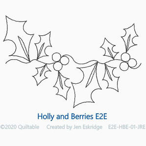 HOLLY AND BERRIES E2E
