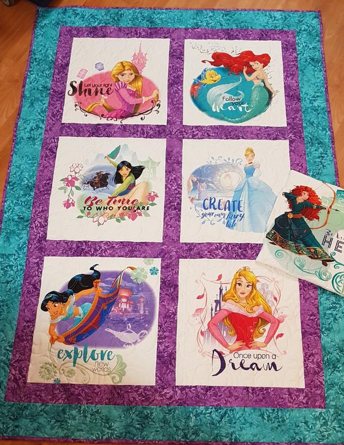 Challenge 2017/18 - #47 - Disney Princesses