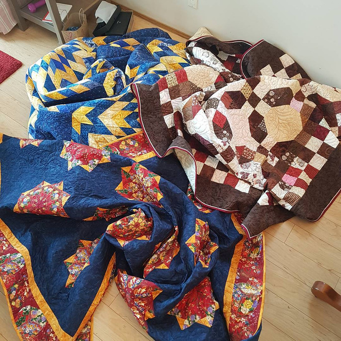 End of 2017 and what's in store for 2018 at Meadow Rose Quilts