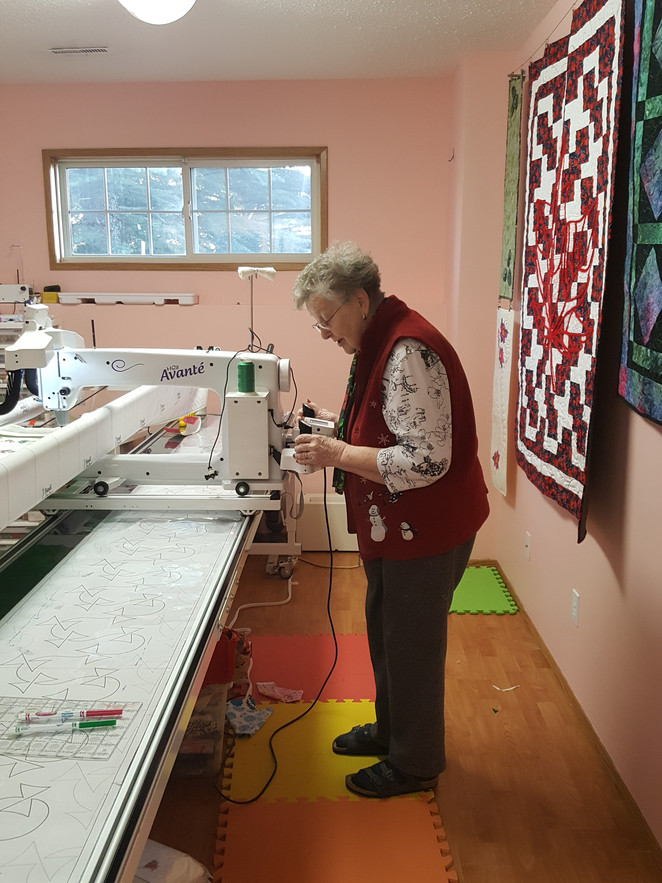 Another panto-proficient quilter