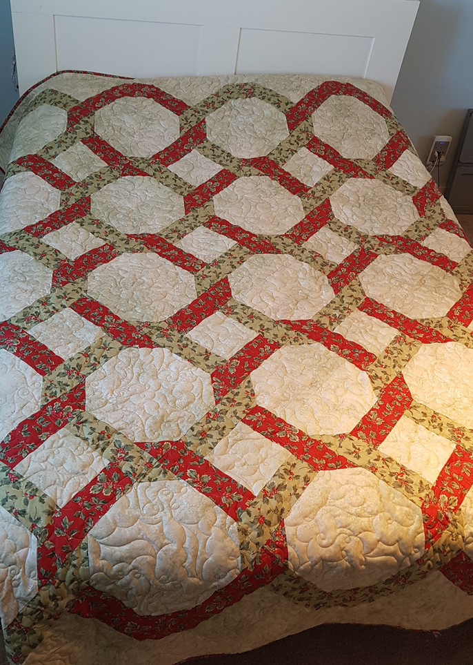 I need help with my Modern Wedding Rings quilt