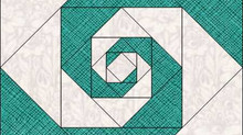 Stars & Swirls Summer 2020 Quilt Along - #4, Swirl Blocks