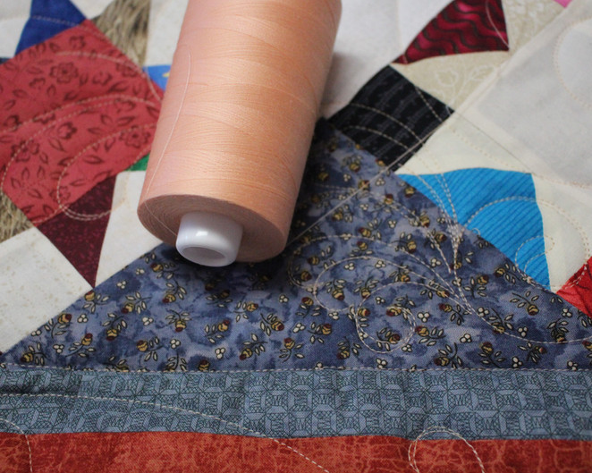 Thursday Thread - I'm quilting with Bahama Sand