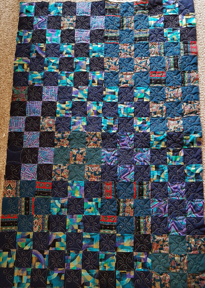 Challenge 2017/18 - #57 & 58 gifting quilts