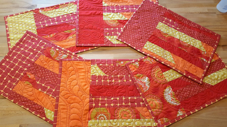 Easy Quilted Placemats