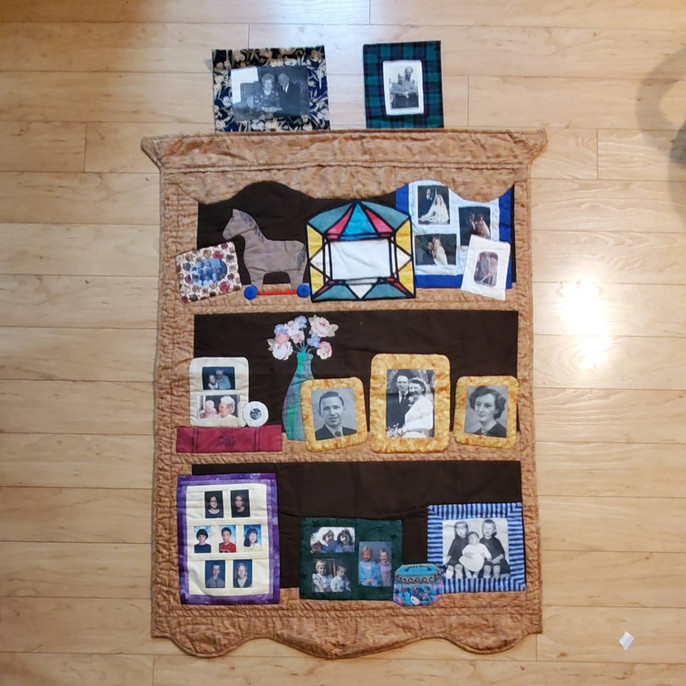 A Wedding Anniversary quilt