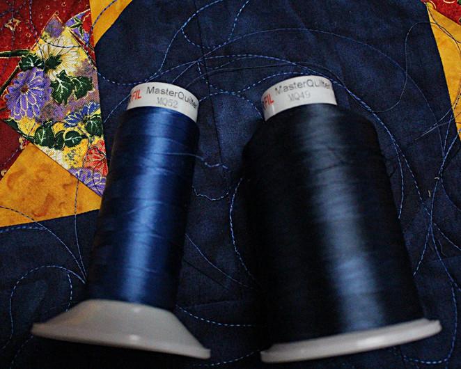 Thursday Thread - Master Quilter - Dark Blue