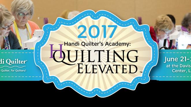 Handi Quilter Academy 2017.....I need help!