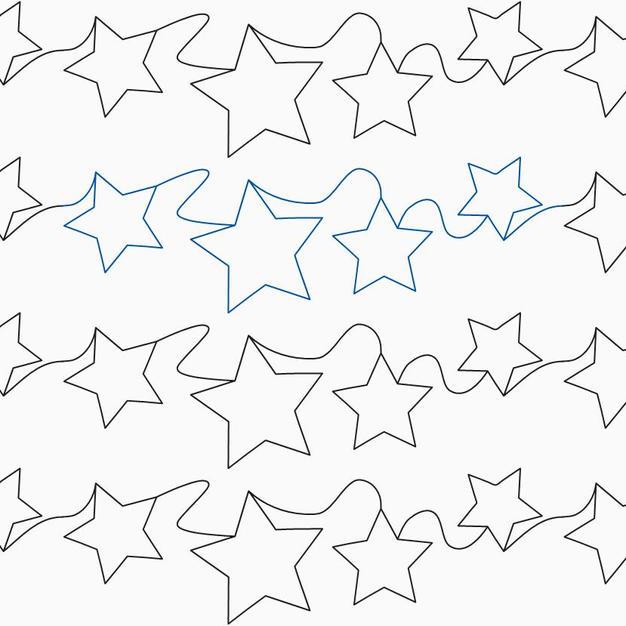 TOSSED STARS BASIC E2E