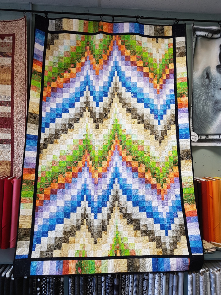 Challenge 2017/18 - #34 & 40, Bargello Quilts