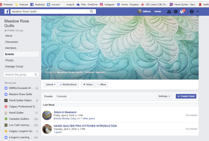 New Facebook Group