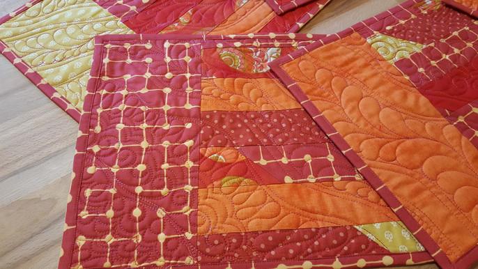Glued & Machine Stitched Binding