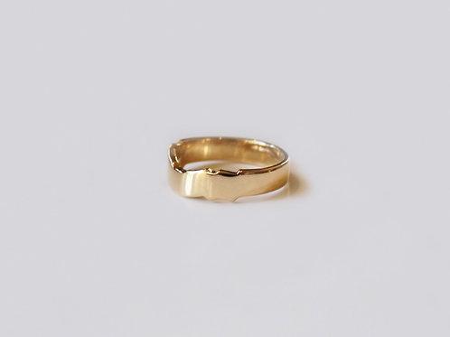 18k Gold Matching Claddagh Ring