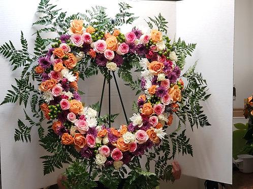 Funeral - floor standing arrangements