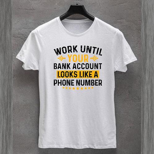 Bank Account Tshirt