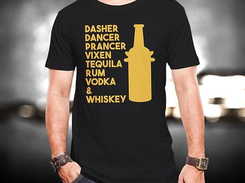 Dasher Dancer Party Unisex Tshirt