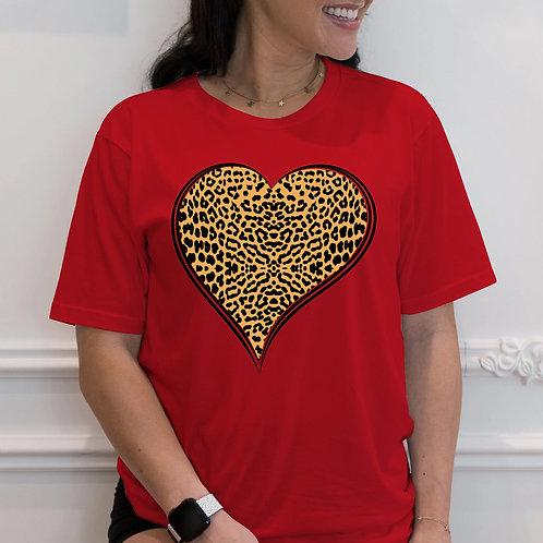 Valentine Heart Premium Tshirt (Unisex Fit)