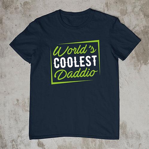 Worlds Coolest Daddio Tshirt