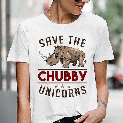 Chubby Unicorns Premium Tshirt (Unisex Fit)