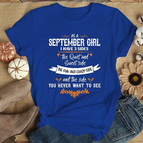 September Girl Tshirt